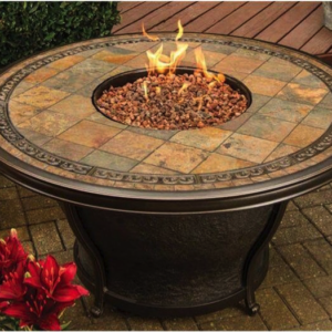 Fairhaven Round Fire Table