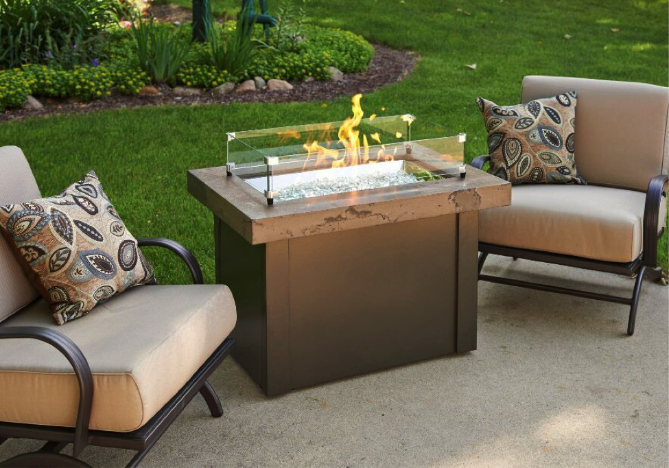 Providence Fire Pit Table