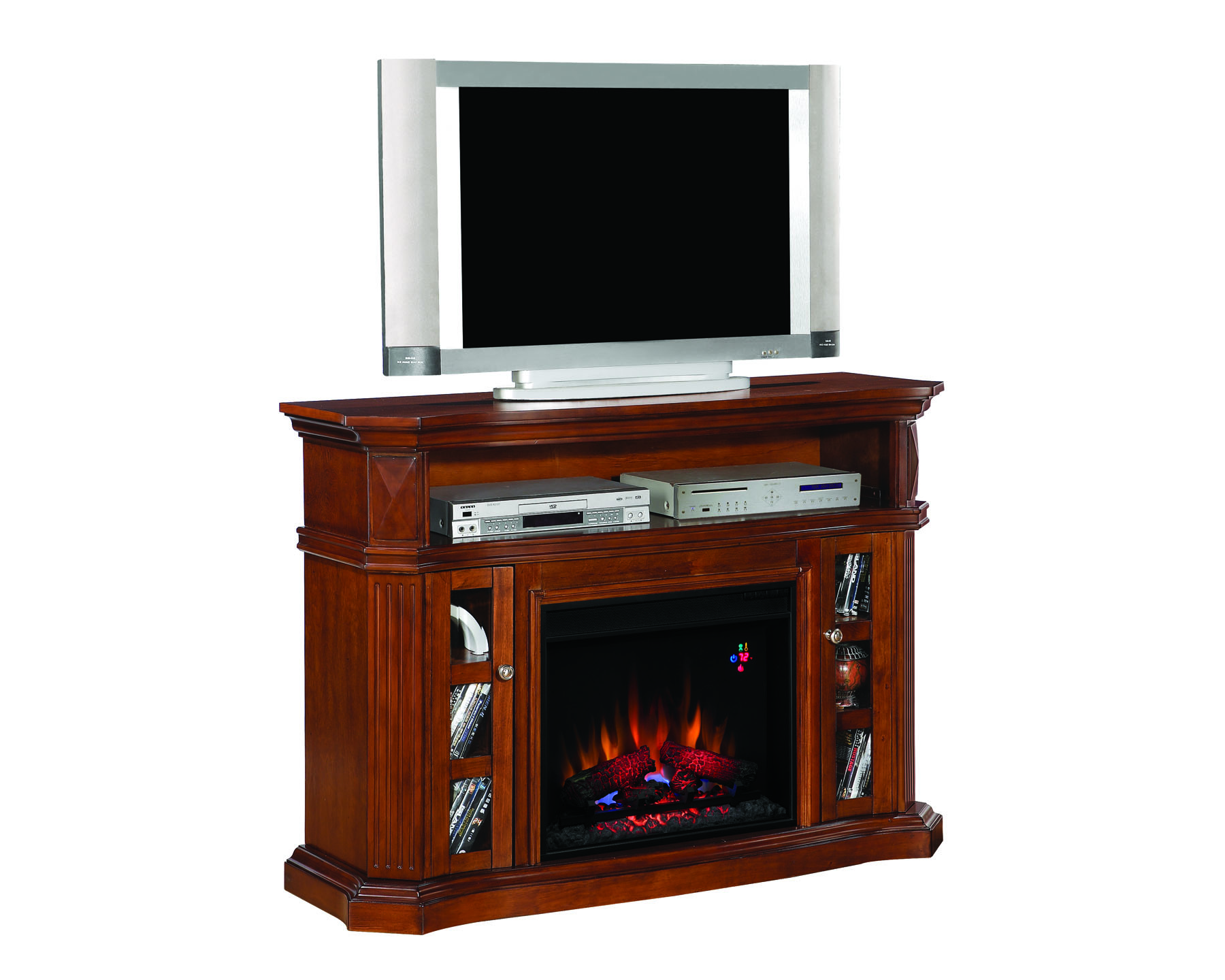 Classic Flame 23 Infrared Electric Fireplace Big Ash