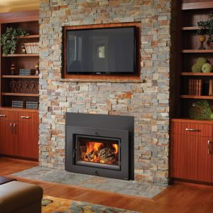 Large Flush Wood Hybrid-Fyre Rectangle