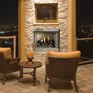 "36"" Outdoor Gas Fireplace"